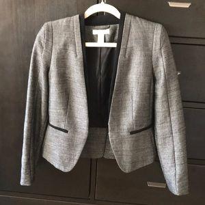 Tailored H&M blazer gray silver black